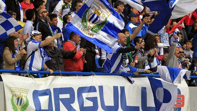El Leganés sube a Primera División tras ganar al Mirandés en un agónico partido