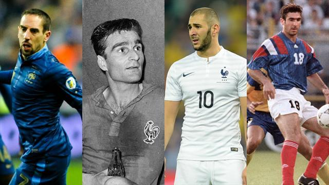 Top 50 : les plus grands joueurs de l'histoire de l'équipe de France (de 40 à 31)