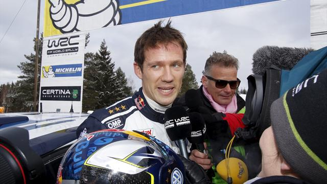 Ogier wins Rally Italy opening stage