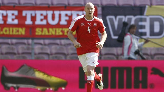 Senderos ne sera pas à l'Euro avec la Suisse