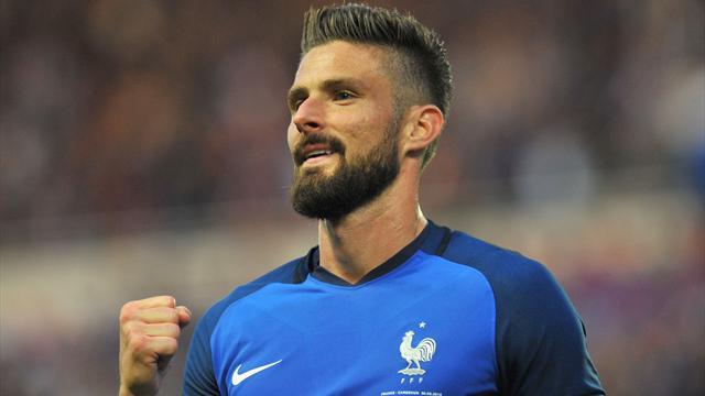 Matuidi d'entrée, Giroud pour continuer : les deux premiers superbes buts français