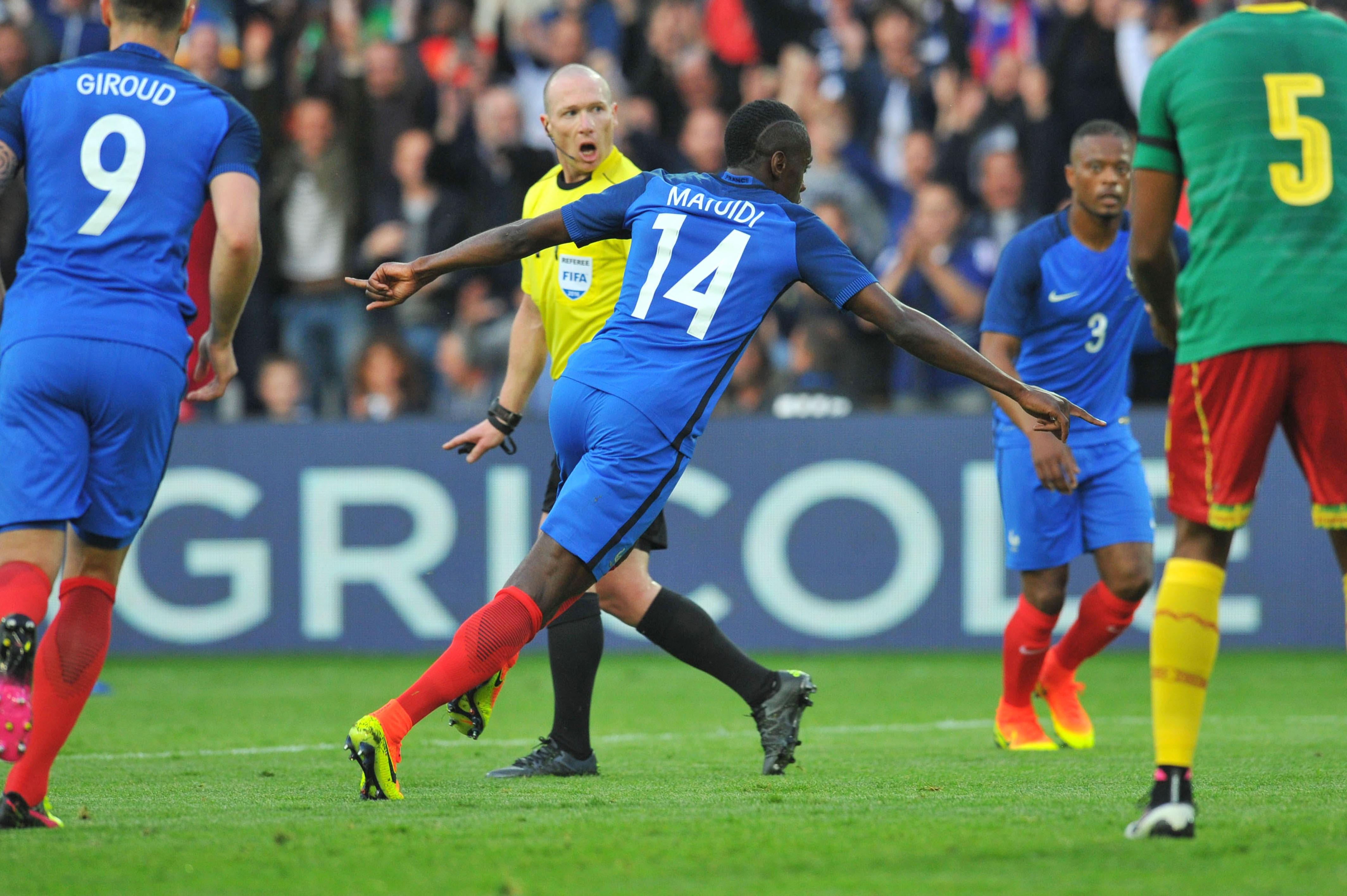 Matuidi a montré la voie aux Bleus