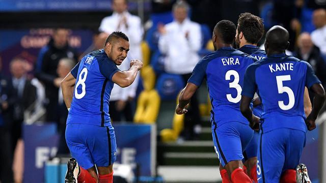 Pour offrir la victoire aux Bleus, Payet a signé une merveille de coup franc