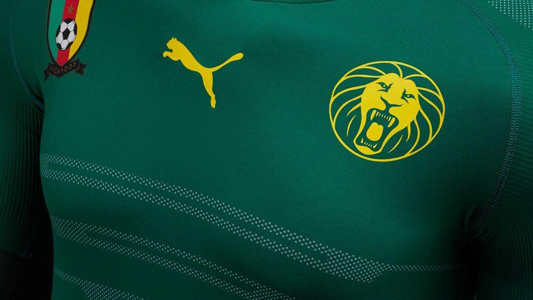 d942d45622252 Puma présente les nouveaux maillots du Cameroun