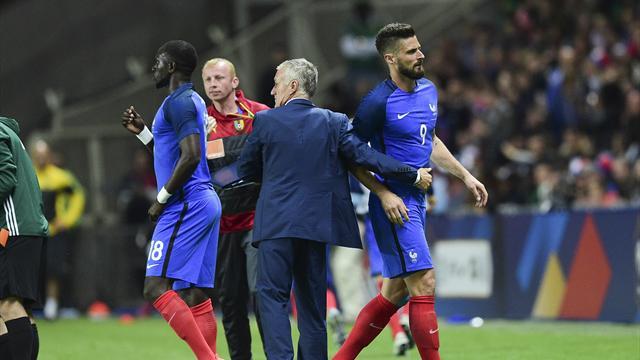Giroud : «Les sifflets ? Je ne comprends pas trop»