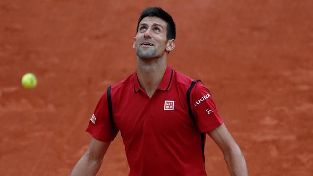 La pluie ne lui a pas réussi : en 35 minutes, Djokovic a eu le temps de perdre le premier set