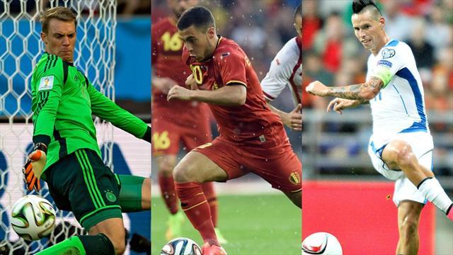 Le top 50 des joueurs les plus attendus de l'Euro (de 20 à 11)