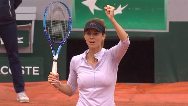 HIGHLIGHTS: Radwanska shocked by Pironkova
