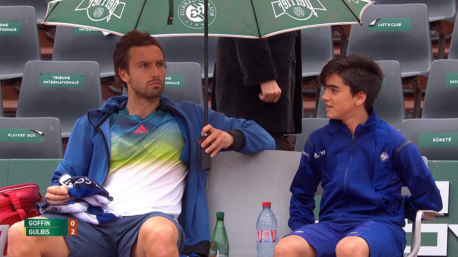 Video - French Open 2016 Ernests Gulbis Und Balljunge -4399