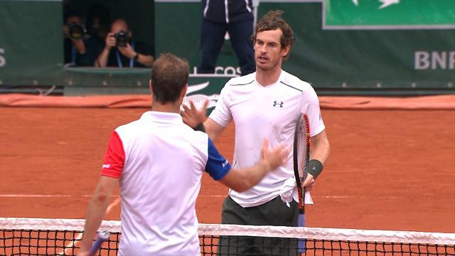 Roland Garros 2016, Murray-Gasquet: 'Mr. Remontadas' vuelve a hacerlo (5-7, 7-6 (3), 6-0 y 6-2)