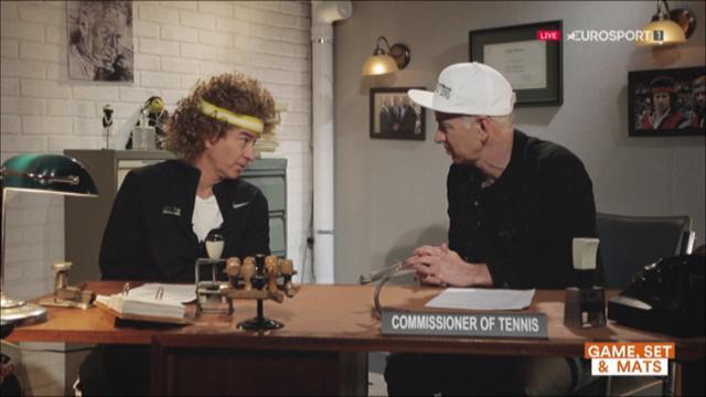 Le Commissioner McEnroe se revoit en 1982 et réalise que le tennis et lui ont bien changé !