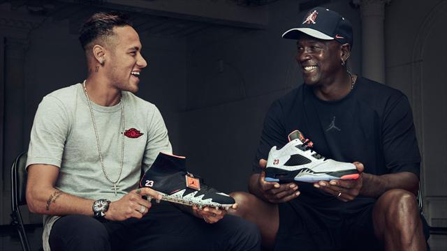 Dans Lance Michael Se Le Avec Football Neymar Economie Jordan 67gybf