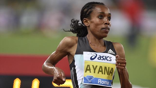 Эфиопка выиграла золотую медаль в беге на 10 км с мировым рекордом