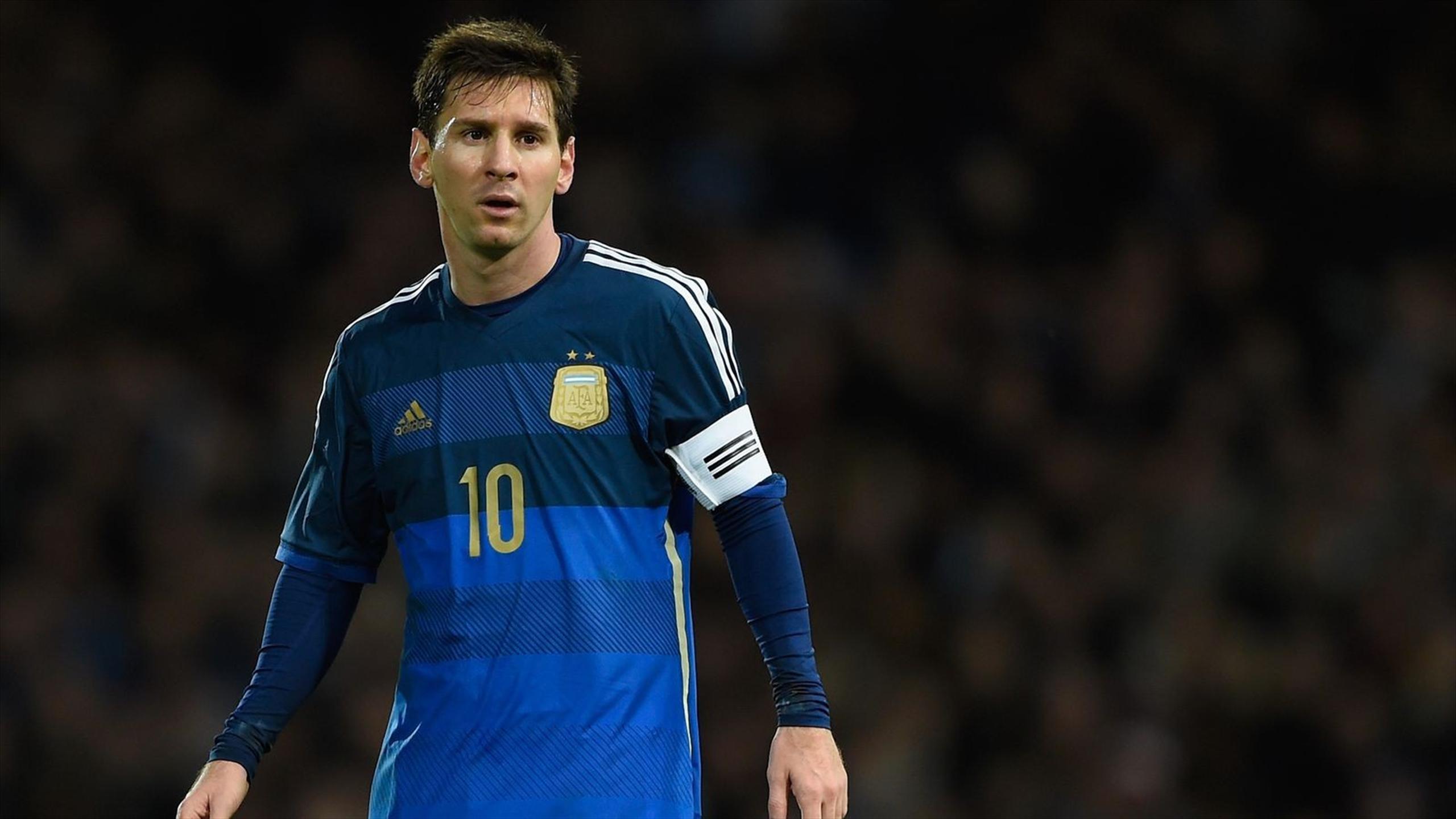 Lionel Messi sous le maillot argentin
