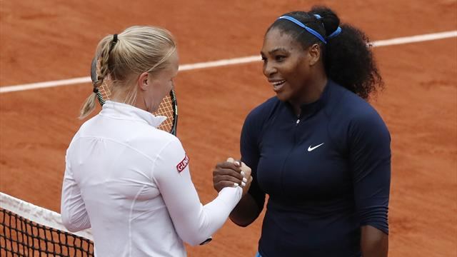 Serena Williams beats Bertens to make French Open final