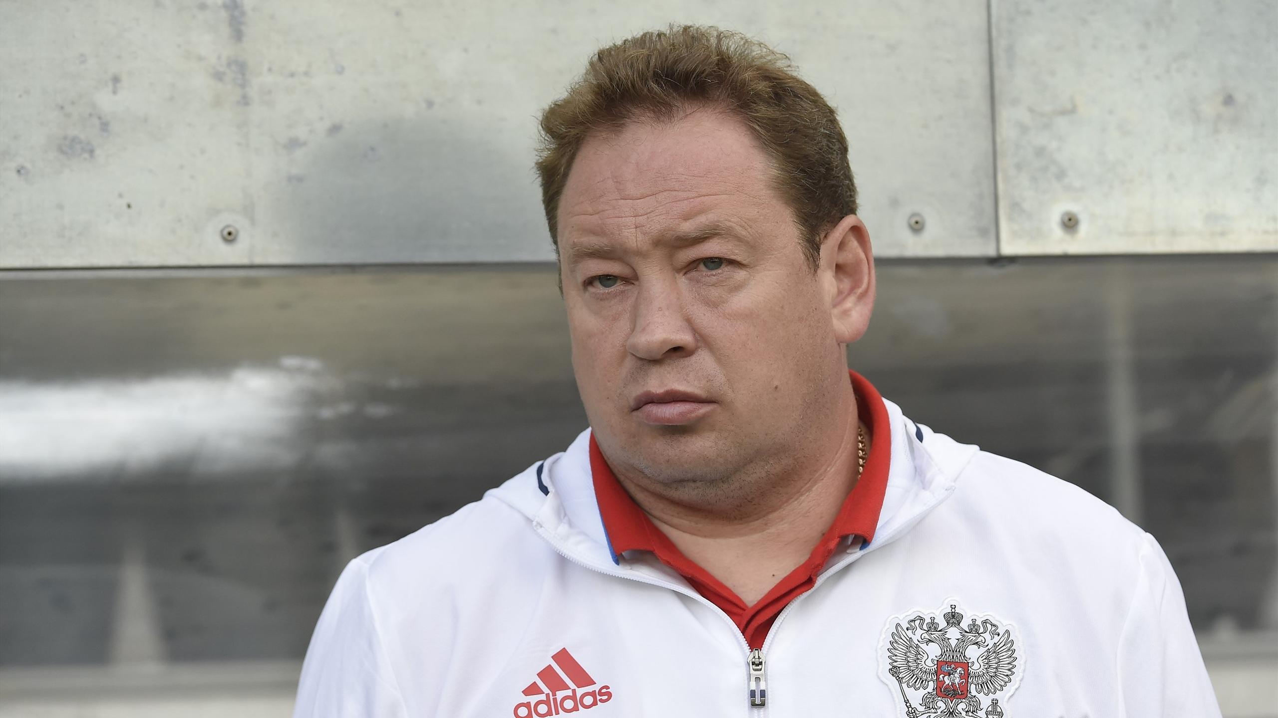 Leonid Slutsky, Russian national team