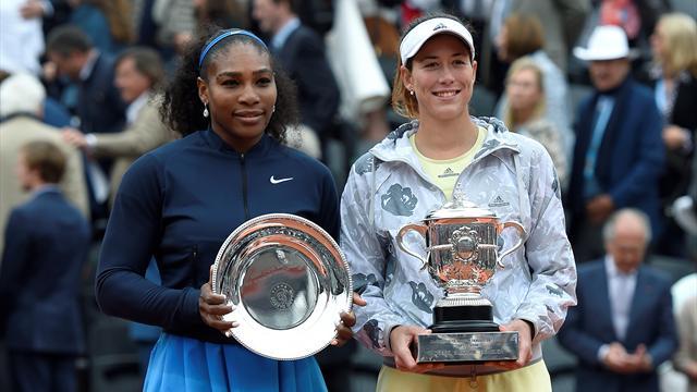 Muguruza était trop forte pour Serena