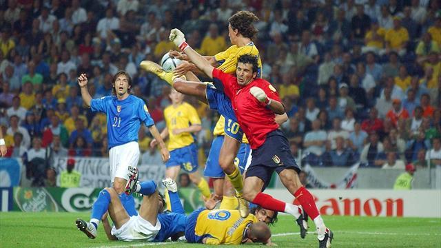 Italie-Suède, au bon souvenir de 2004…