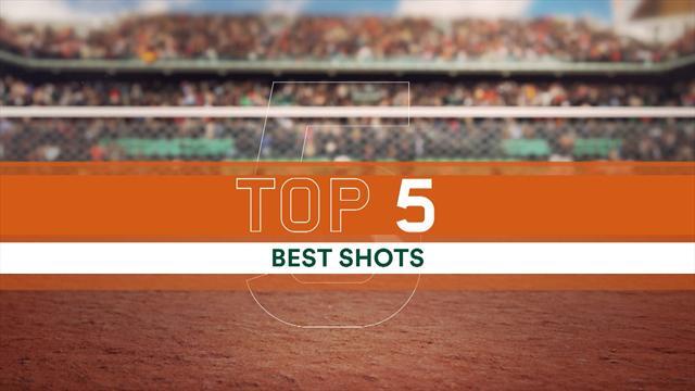 Le Top 5 de samedi : Lob, volée ou coups droits laser, cette finale a tenu ses promesses