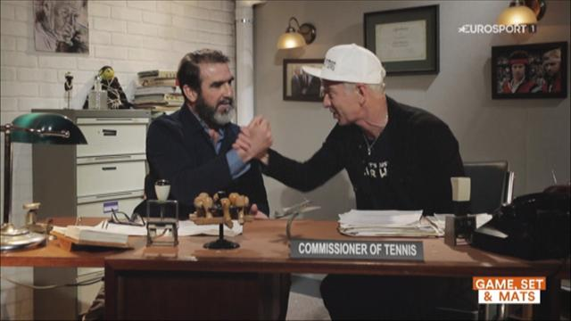 McEnroe interrogates Cantona ahead of 'Commissioner of Football' role