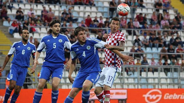 Ten-goal Croatia score record win over San Marino