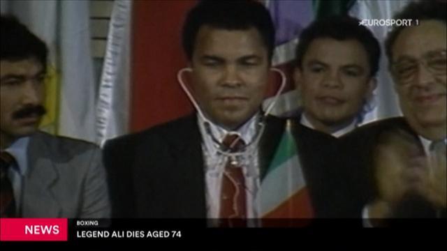 Box-Legende Muhammad Ali stirbt mit 74