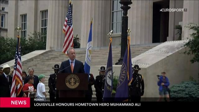 """Muhammad Ali wird beigesetzt: """"Größer als das Leben"""""""