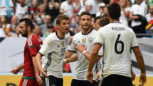 Europei 2016, Germania - Ucraina 2-0: voti, cronaca e tabellino