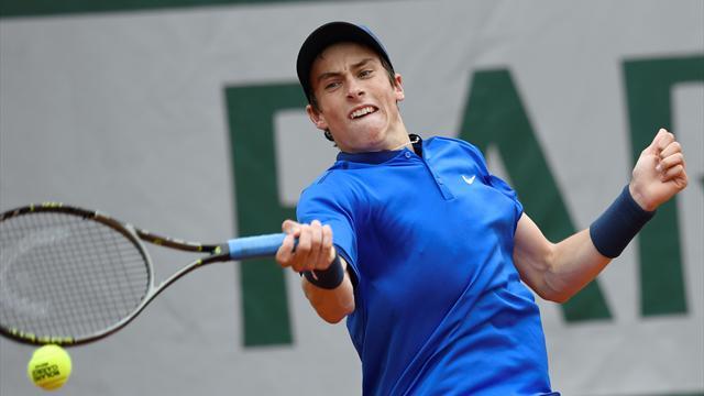 Tennis : Blancaneaux roi des juniors, une premi�re depuis Monfils en 2004