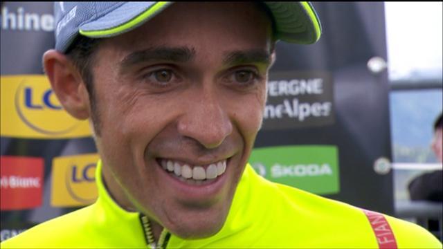 Alberto Contador happy with prologue success