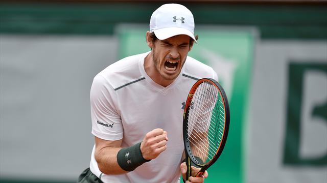 Tennis : Une défense hors-norme sous les coups de boutoir de Djokovic, et Murray fait le show
