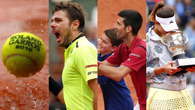 De la pluie, du rire et des larmes… Retour sur un Roland-Garros riche en émotions