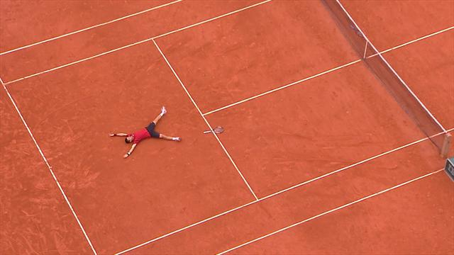 Highlights: Novak Djokovic wins maiden French Open title