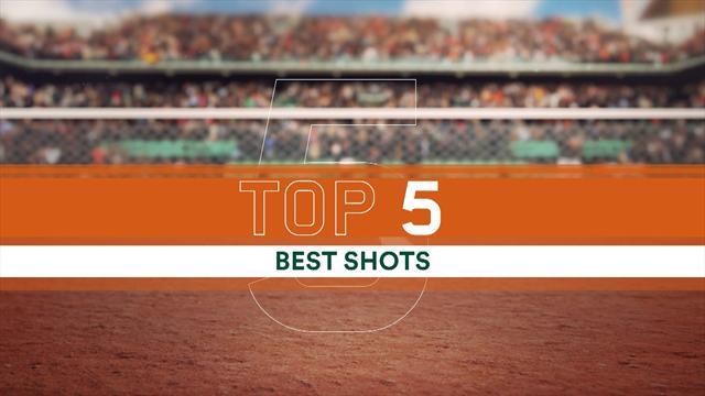 Финты Надаля и Брауна между ног, а также еще 3 наилучшайших удара «Ролан Гаррос»