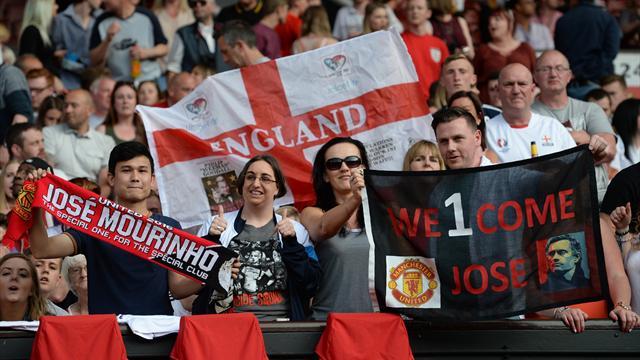 Mourinho a pu apprécier l'accueil chaleureux d'Old Trafford