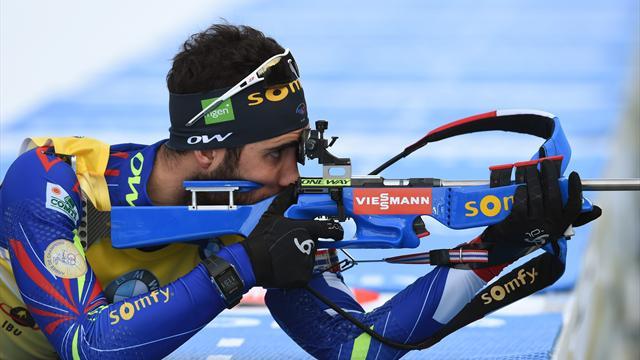"""Fourcade veut égaler Bjoerndalen et devenir """"un meilleur athlète"""""""