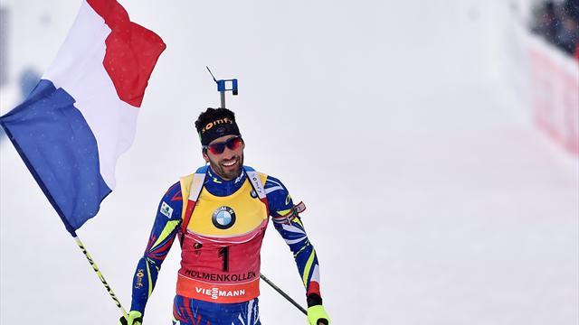 Regardez la Coupe du Monde de Biathlon en direct sur Eurosport 1 et  2 et sur Eurosport Player