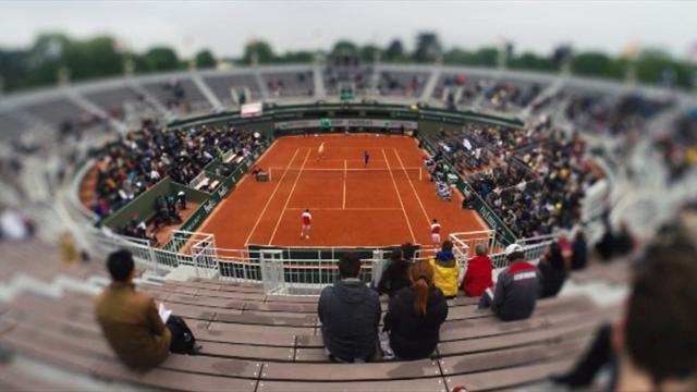Im Zeitraffer durch die French Open