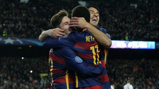 Хет-трик Месси принес «Барселоне» победу над «Манчестер Сити»