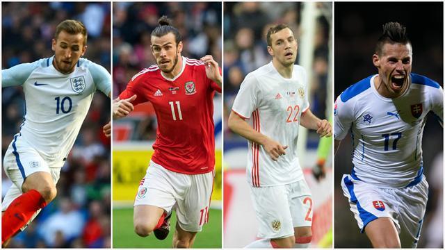 Angleterre, Pays de Galles, Russie, Slovaquie : dans le groupe B, tout est ouvert