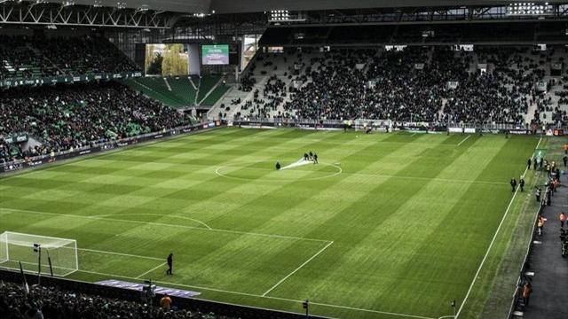 Geoffroy-Guichard à huis clos après les incidents lors du derby contre l'OL