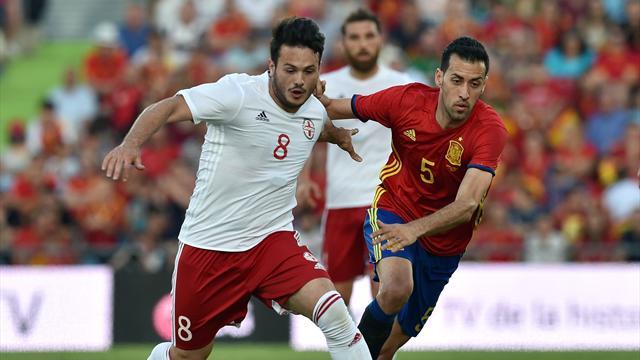 L'Espagne boucle sa préparation sur un (gros) faux pas