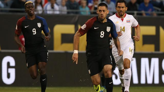 United States bounce back with comfortable win over Costa Rica