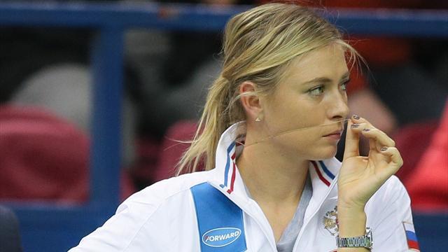Sharapova suspendue jusqu'en janvier 2018