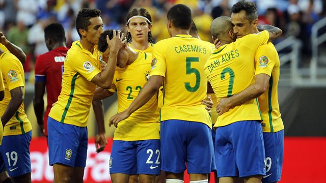 Coutinho-inspired Brazil hammer hapless Haiti in Copa America rout