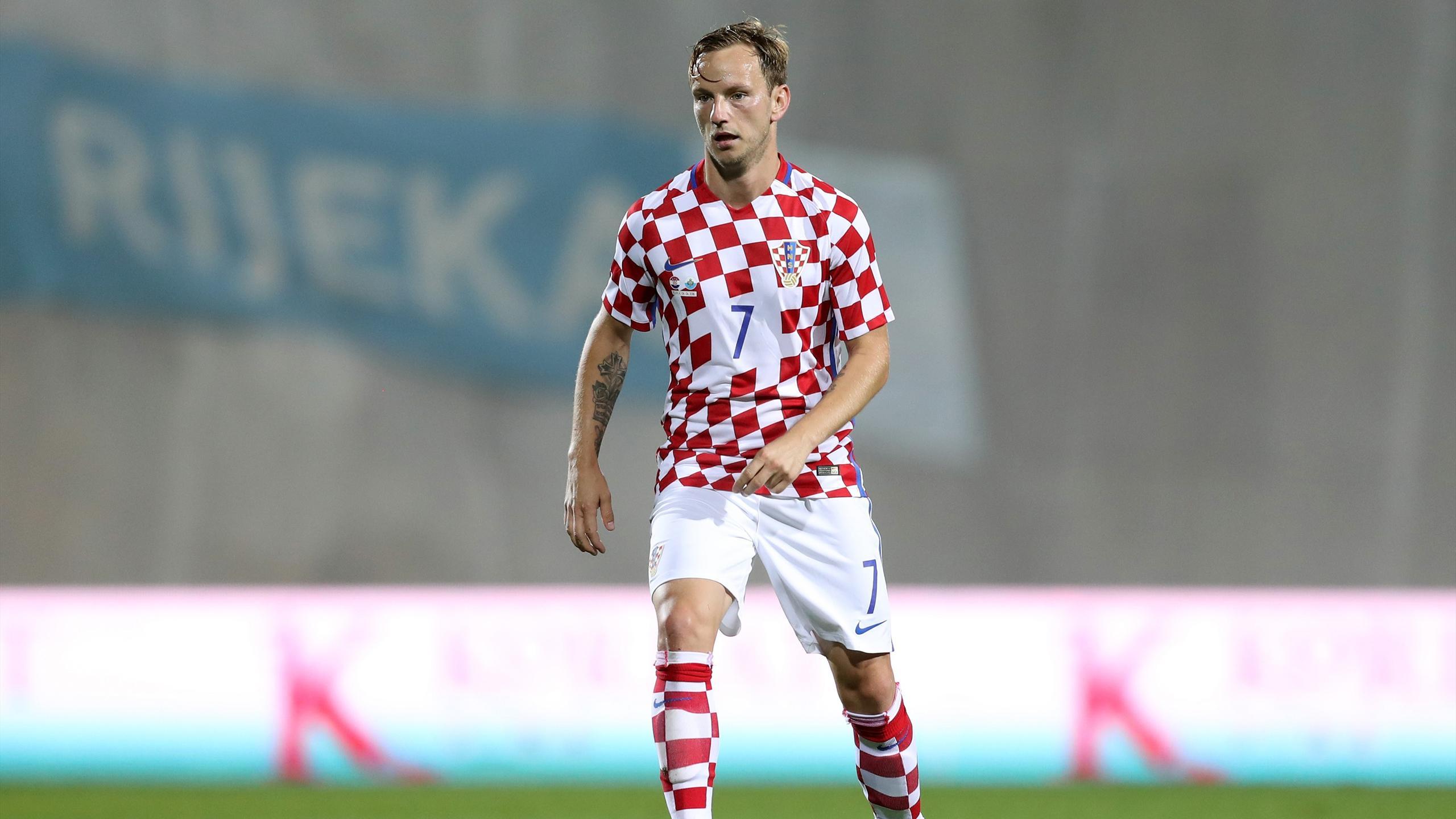 Ivan Rakitic, un des nombreux atouts de la Croatie au milieu de terrain