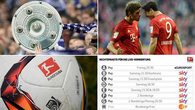Eurosport zeigt erstmals Live-Spiele der Bundesliga exklusiv in Deutschland