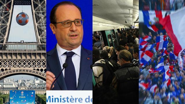 Tour Eiffel, grèves et ligne 13 : tu sais que l'Euro se déroule en France quand…