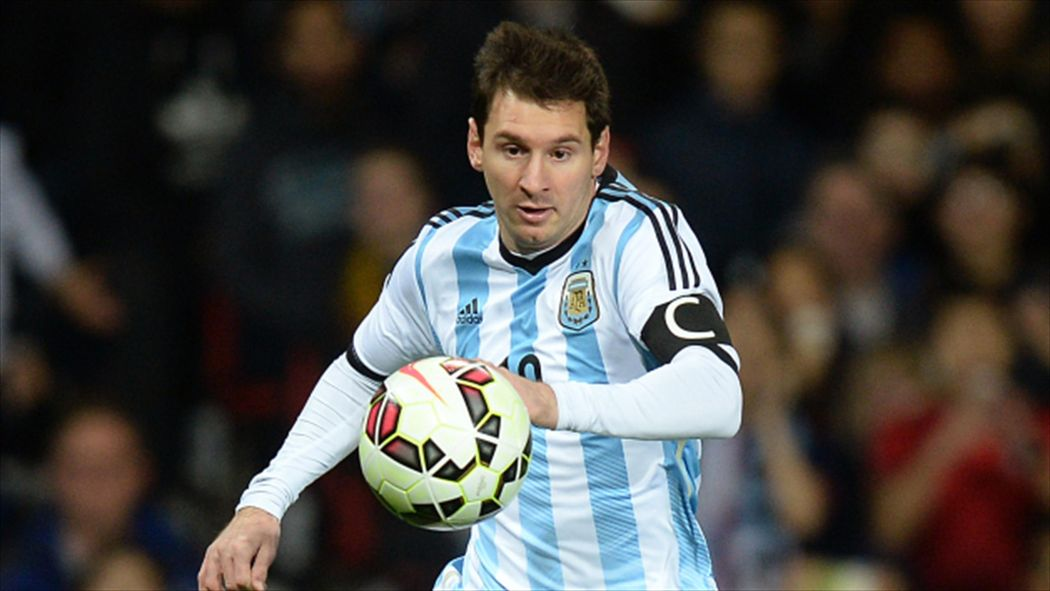 04779bbdf Lionel Messi primed to end Argentina drought in Copa final - Copa ...