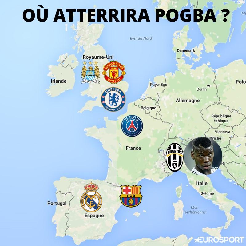 Juventus Carte Italie.Mercato Real Manchester Psg Ou Juve Au Moins Paul